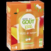 Good Goût Alimentation Infantile Mangue 4 Gourdes/90g à ALES