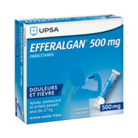 Efferalgan 500 Mg Glé En Sachet Sach/16 à ALES
