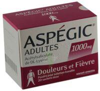 Aspegic Adultes 1000 Mg, Poudre Pour Solution Buvable En Sachet-dose 15 à ALES