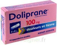 Doliprane 100 Mg Suppositoires Sécables 2plq/5 (10) à ALES