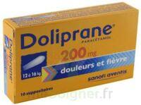 Doliprane 200 Mg Suppositoires 2plq/5 (10) à ALES