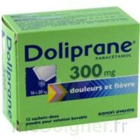 Doliprane 300 Mg Poudre Pour Solution Buvable En Sachet-dose B/12 à ALES