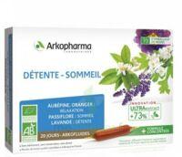 Arkofluide Bio Ultraextract Solution Buvable Détente Sommeil 20 Ampoules/10ml à ALES