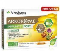 Arkoroyal Immunité Fort Solution Buvable 20 Ampoules/10ml à ALES
