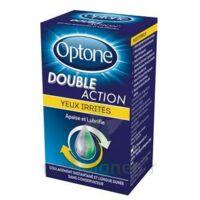 Optone Double Action Solution Oculaire Yeux Irrités Fl/10ml à ALES