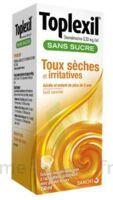 Toplexil 0,33 Mg/ml Sans Sucre Solution Buvable 150ml à ALES