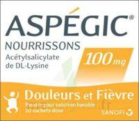 Aspegic Nourrissons 100 Mg, Poudre Pour Solution Buvable En Sachet-dose à ALES