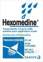 Hexomedine Transcutanee 1,5 Pour Mille, Solution Pour Application Locale à ALES