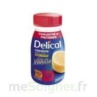 Delical Boisson Hp Hc Concentree Nutriment Vanille 4bouteilles/200ml à ALES