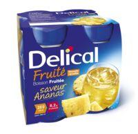 Delical Boisson Fruitee Nutriment Ananas 4bouteilles/200ml à ALES
