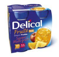 Delical Boisson Fruitee Nutriment Multi Fruits 4bouteilles/200ml à ALES