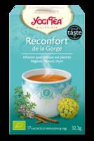 Yogi Tea Reconfort De La Gorge à ALES