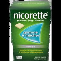 Nicorette 2 Mg Gom à Mâcher Médic Sans Sucre Menthe Fraîche Plq/105gom à ALES