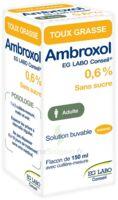 Ambroxol Eg Labo Conseil 0,6 %, Solution Buvable à ALES