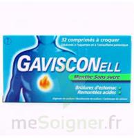 Gavisconell Coprimés à Croquer Sans Sucre Menthe édulcoré à L'aspartam Et à L'acésulfame Potas Plq/24 à ALES