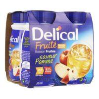 Delical Boisson Fruitee Nutriment Pomme 4bouteilles/200ml à ALES
