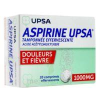 Aspirine Upsa Tamponnee Effervescente 1000 Mg, Comprimé Effervescent à ALES