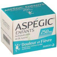 Aspegic Enfants 250, Poudre Pour Solution Buvable En Sachet-dose à ALES