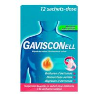 Gavisconell Suspension Buvable Sachet-dose Menthe Sans Sucre 12sach/10ml à ALES