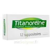 Titanoreine Suppositoires B/12 à ALES
