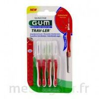 Gum Trav - Ler, 0,8 Mm, Manche Rouge , Blister 4 à ALES