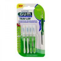 Gum Trav - Ler, 1,1 Mm, Manche Vert , Blister 4 à ALES
