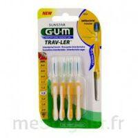 Gum Trav - Ler, 1,3 Mm, Manche Jaune , Blister 4 à ALES