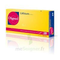 Oligosol Lithium Solution Buvable En Ampoule Ou En Récipient Unidose 28amp/2ml à ALES
