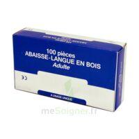 Cooper Abaisse-langue Bois Adulte B/100 à ALES