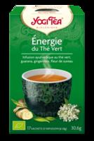 Yogi Tea Thé énergie Du Thé Vert Bio 17 Sachets à ALES