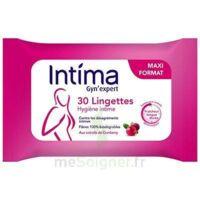 Intima Gyn'expert Lingettes Cranberry Paquet/30 à ALES