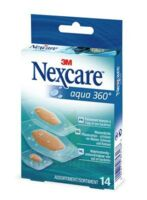 Nexcare Aqua 360° Pansements 3 Tailles B/14 à ALES
