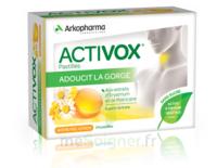 Activox Sans Sucre Pastilles Miel Citron B/24 à ALES