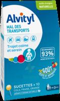 Alvityl Sucette Mal Des Transports B/10 à ALES