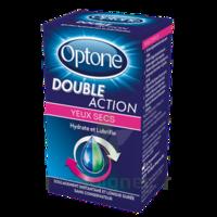 Optone Double Action Solution Oculaire Yeux Secs Fl/10ml Promo à ALES