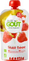 Good Goût Alimentation Infantile Fraise Banane Gourde/120g à ALES