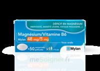 Magnesium/vitamine B6 Mylan 48 Mg/5 Mg, Comprimé Pelliculé à ALES