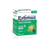Exomuc 200 Mg, Granulés Pour Usage Oral En Sachet 15 Sachets/2g à ALES