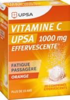 Vitamine C Upsa Effervescente 1000 Mg, Comprimé Effervescent à ALES